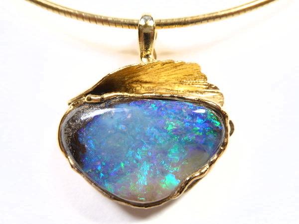 Opal Anhänger